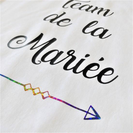 T-shirt Team de la Mariée