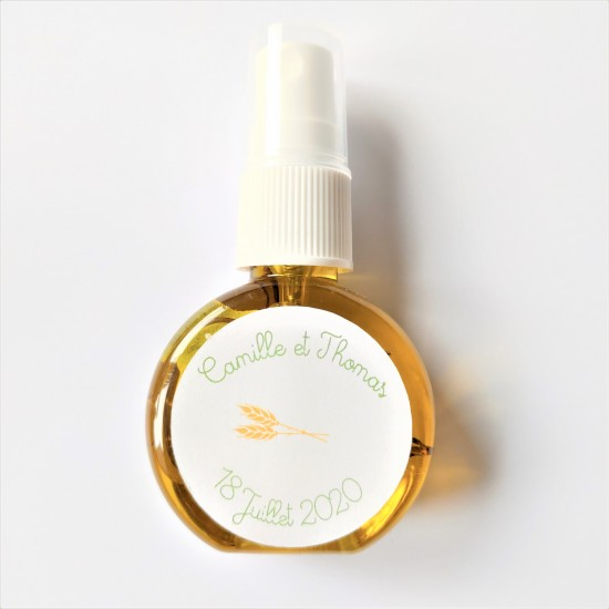Spray huile