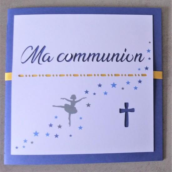 Communion danseuse étoile