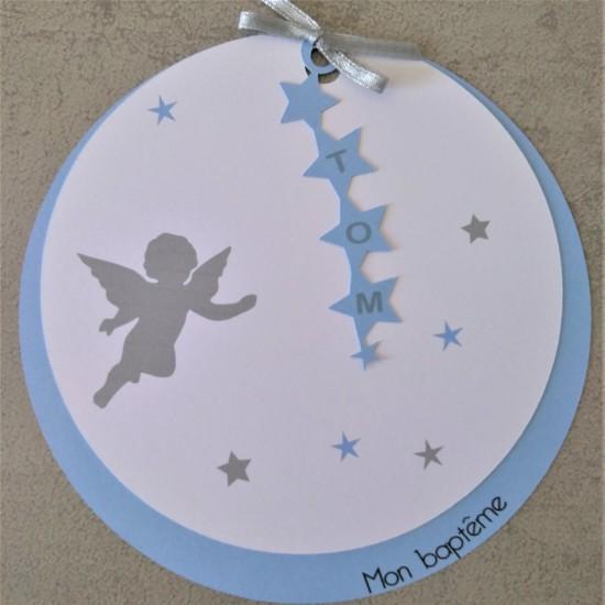 Ronds ange & étoiles