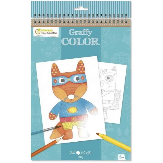 Cahier de Coloriage Doudous