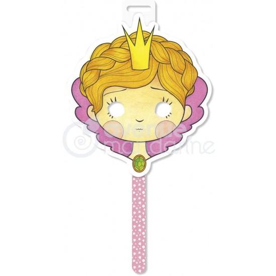 Masque Princesse à colorier
